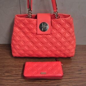 KATE SPADE Astor Court ELENA houlder Bag & Wallet